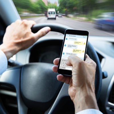 Distracted Driving with Cell Phone
